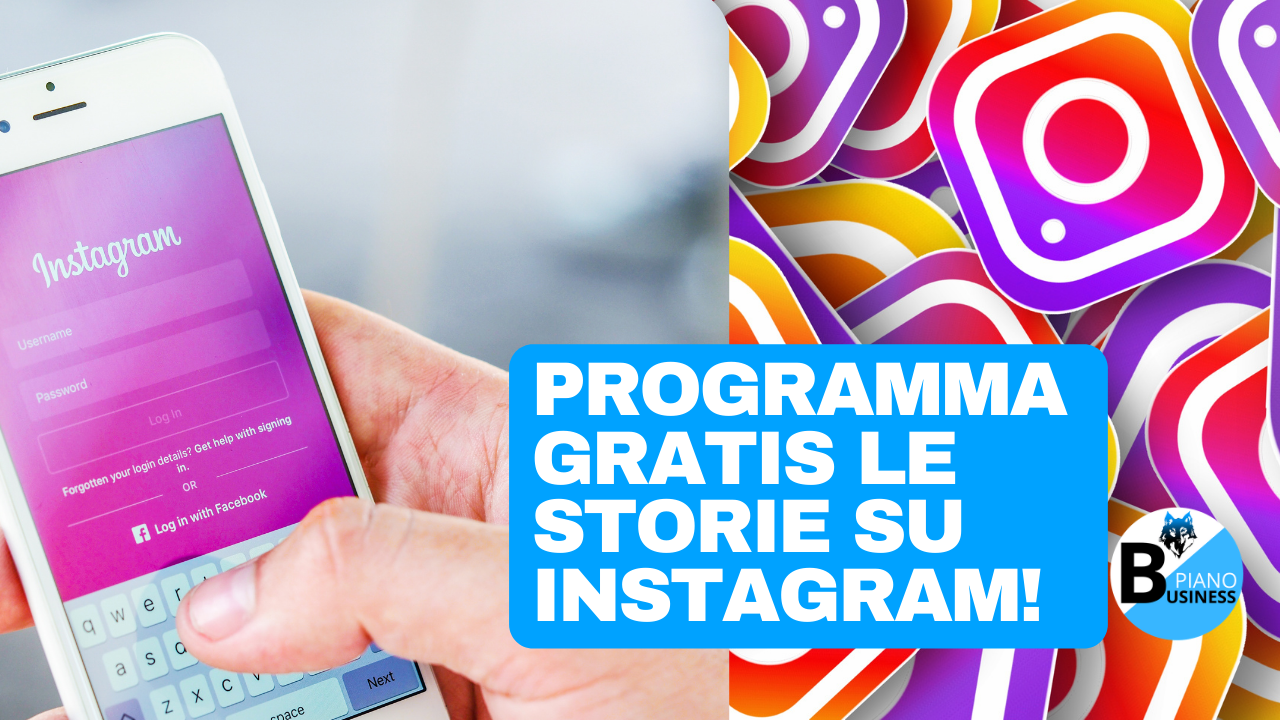 programma gratis le storie su Instagram